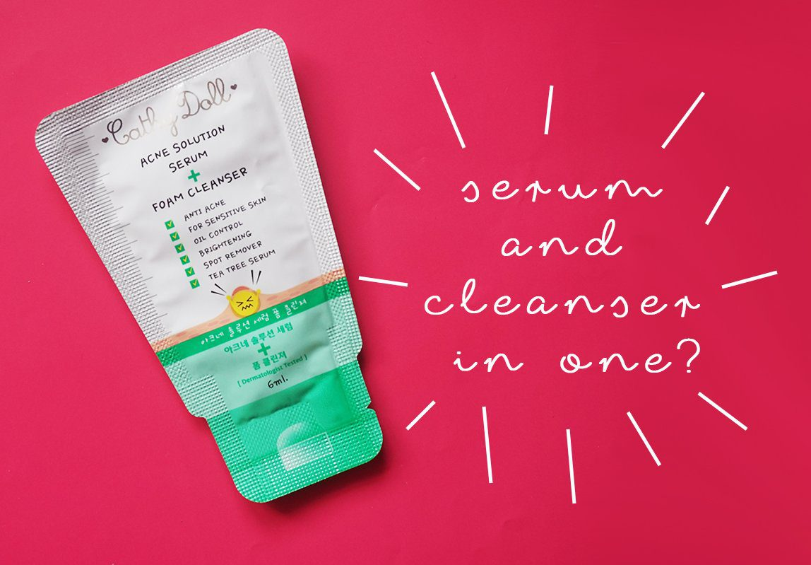 Here's a review of the Cathy Doll Acne Solution Cleanser.