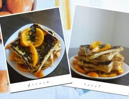 Here's an easy french toast recipe with a zesty twist.