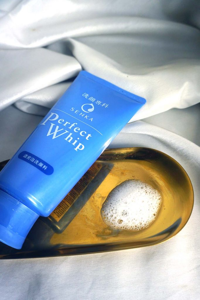 The cleanser has a refreshing texture and doesn't dry the skin out after.