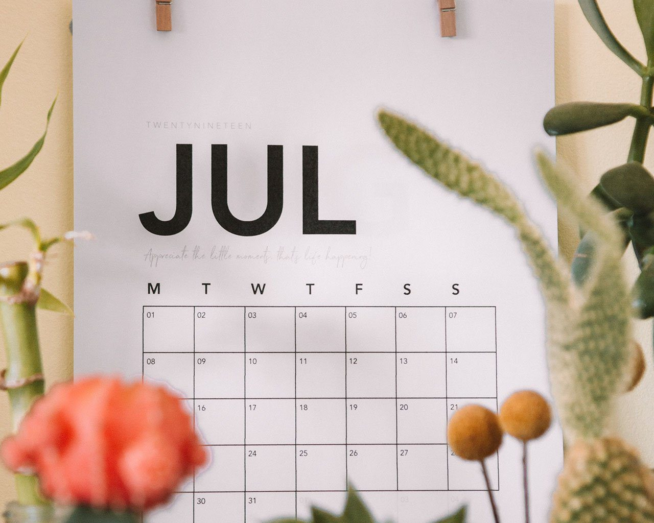 July Is My January