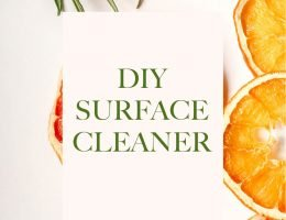 This DIY surface cleaner requires only two ingredients — and you don't need to buy them.