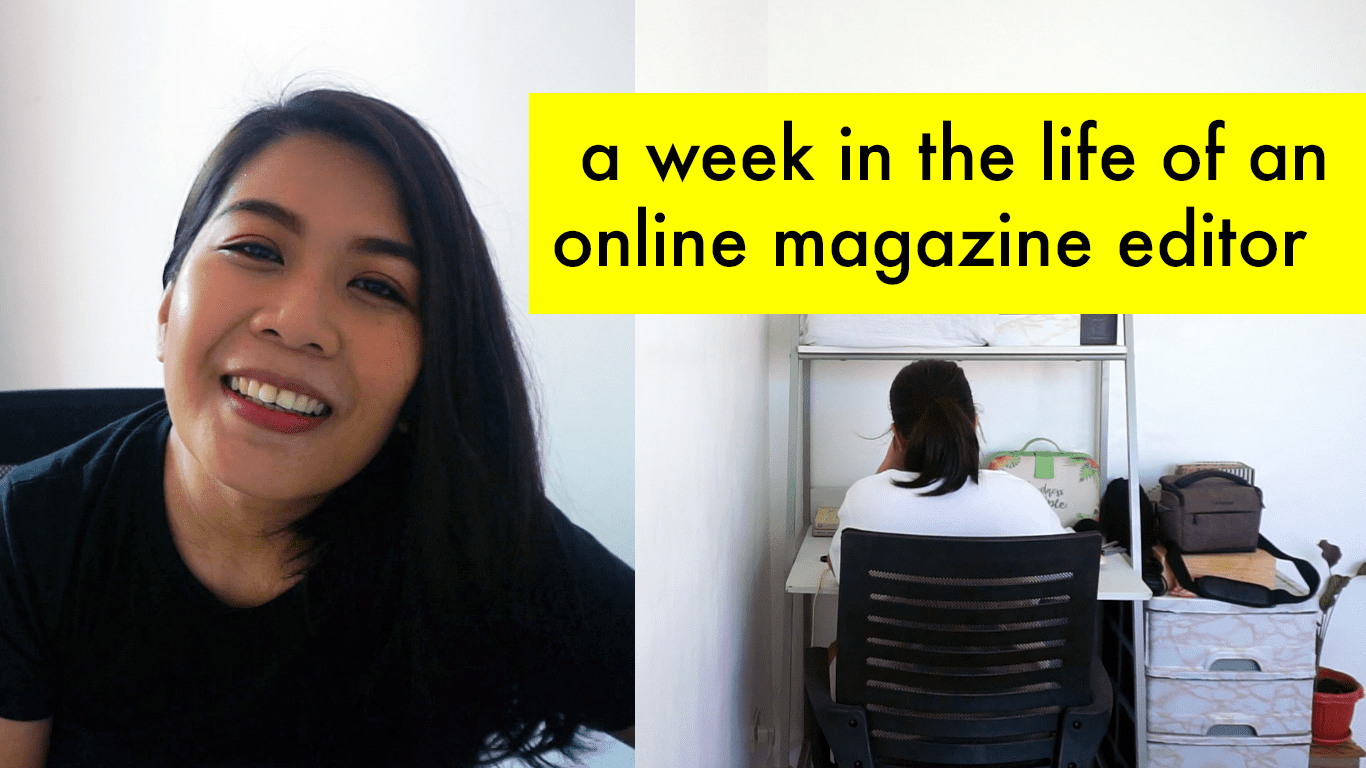 [VIDEO] A Week in My Life as an Editor
