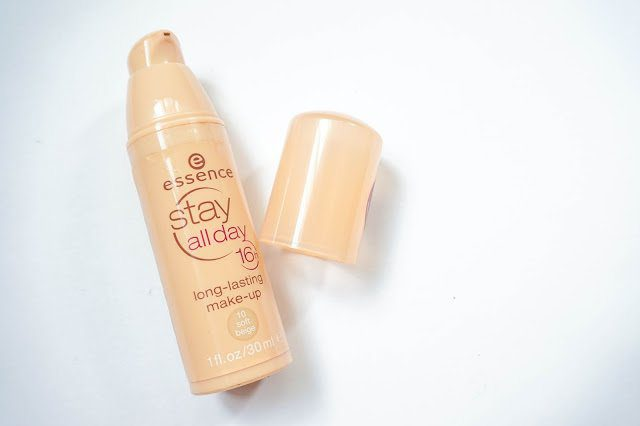 The old packaging of Essence Stay All Day 16h Long-Lasting Makeup