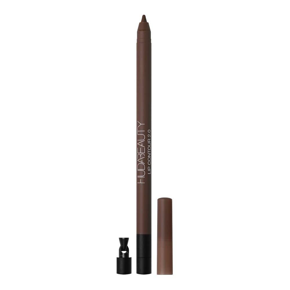 Huda Beauty Lip Contour in Rich Brown