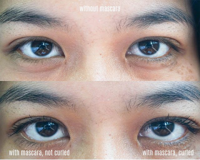The results of using the Maybelline Hypercurl Mascara