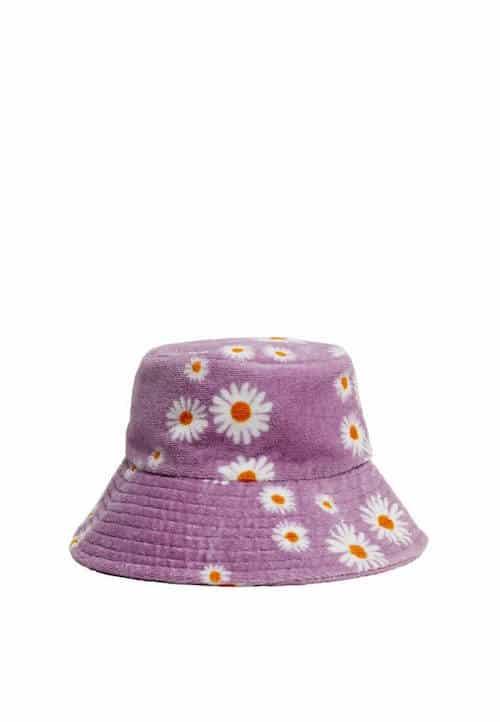 Mango Printed Fabric Hat