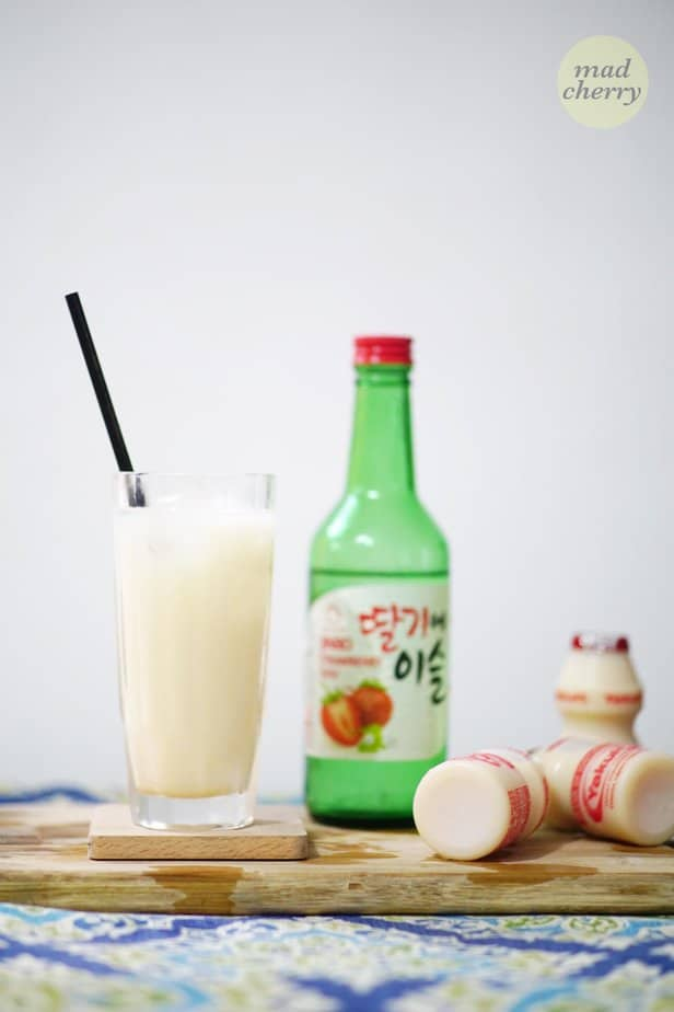 You have to try this DIY Soju and Yakult cocktail recipe.